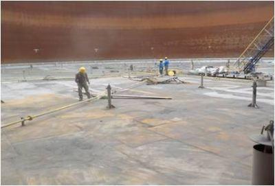 Titan - Terminal 3 Tank Blasting & Painting