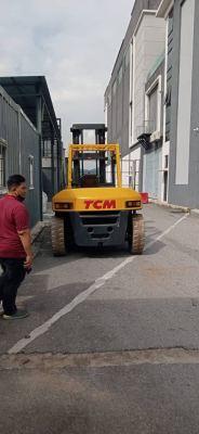 TCM Diesel Forklift Rental at Kota Damansara, Selangor Malaysia