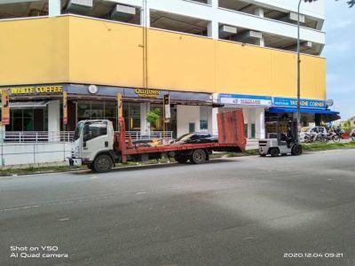 Nissan Diesel Forklift Rental at Shamelin Mall, Kuala Lumpur, Malaysia