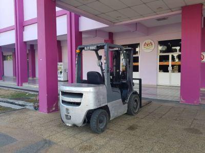 Nissan Diesel Forklift Rental at Kajang, Selangor, Malaysia