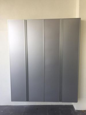 kabinet kasut aluminium