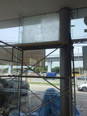 Replacement tempered fix glass