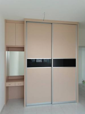 Sliding Wardrobe with Dressing