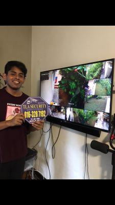 TLA 5MP 2K Outdoor High Resolution CCTV System PROJECT Site Taman Saujana Utama Sg Buloh