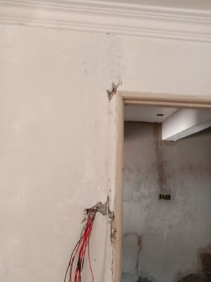 Conceal & Hacking Alarm & CCTV Cable Wiring Works