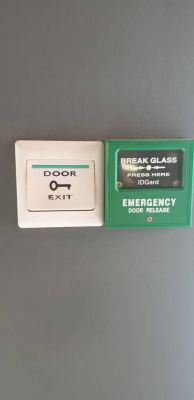 Heavyduty GlassDoor Access Pin & Card System