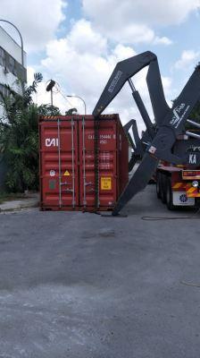 Building Materials at Tanjung Pelepas Port, Johor Malaysia