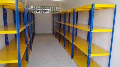 2 Compartment Locker and Boltless Rack (Desa Park City)