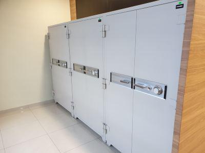 UCHIDA E620 2-Door Fire Resistant Safe