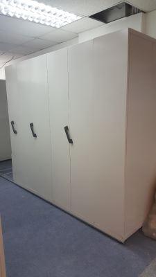 Supply Manual Hand Push Mobile Compactus, Boltless Rack & Office Furniture (Phileo Damansara II)