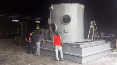 FRP Chemical Tank & Scubber