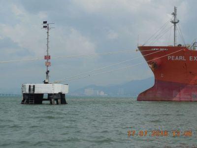 Tanker jetty at Prai Chevron Terminal, Penang