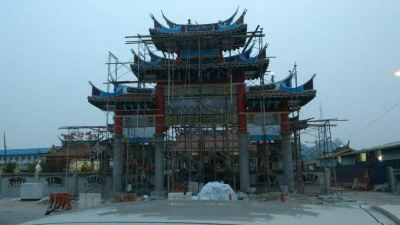 Chinese Temple Construction