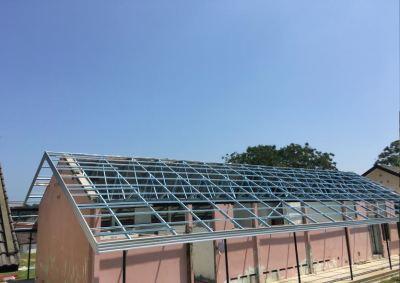JKR Spec Lightweight Roof Truss with Uroll Bond Roof Covering at Kem Terendak Sg Udang Melaka