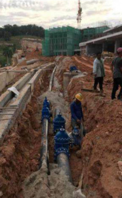 EXTERNAL WATER RETICULATION AND SEWERAGE RETICULATION WORKS