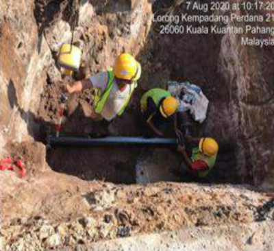 CONSTRUCTION AND COMPLETION OF GRAVITY SEWER & FORCE MAIN (OPEN CUT METHOD) AND OTHER ASSOCIATED WORKS