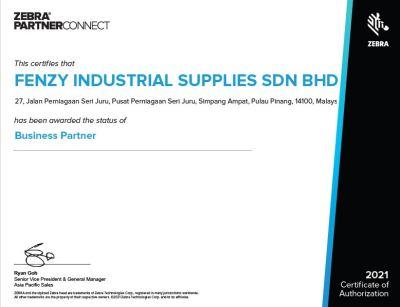 Zebra Business Partner Ceritfication