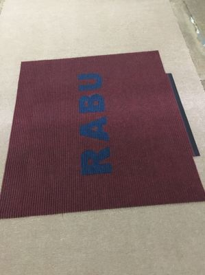 Needle Rib mat With Wording