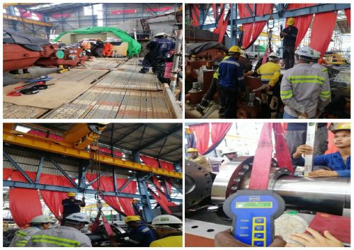 WEIGHING JOB FOR ALIGNMENT TURBINE - COMPANY UTOCC