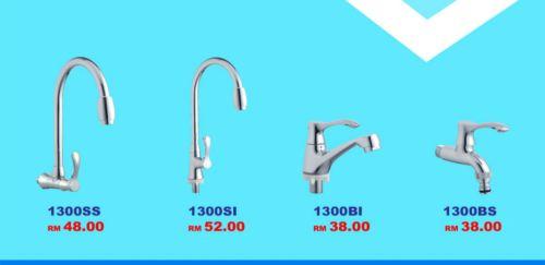 wall sink tap