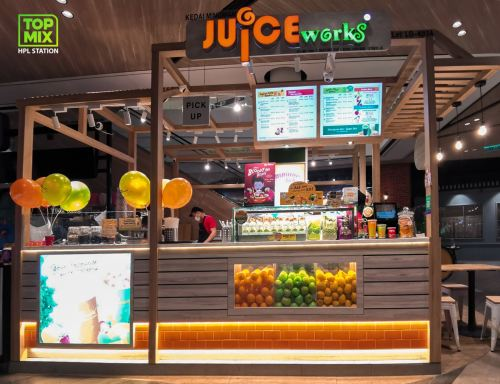 Juice Work @ Central I-City Mall Shah Alam