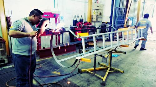 Installation Of Ladder