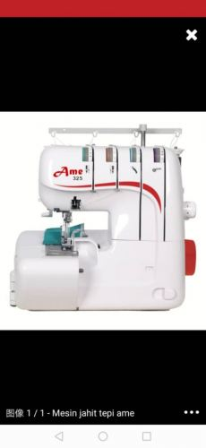 AME PORTABLE HOME OVERLOCK SEWING MACHINE