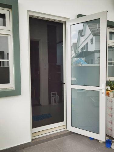 Security Stainless Steel Mosquito mesh Swing Door