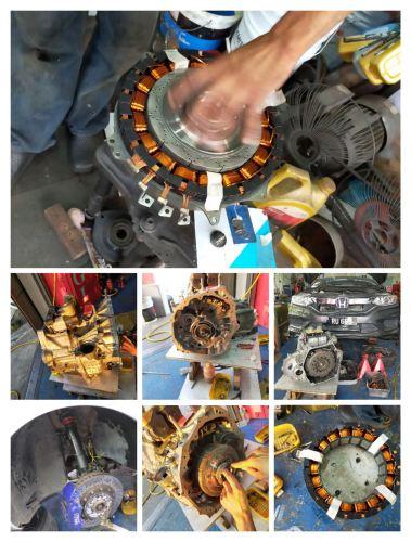 Honda City Hybrid - Repair Dual Clutch Transmission system  Set