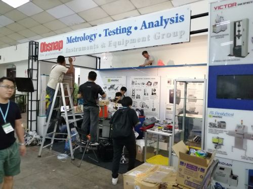 MSIA PLAS 2019 - Booth Touch-up Day