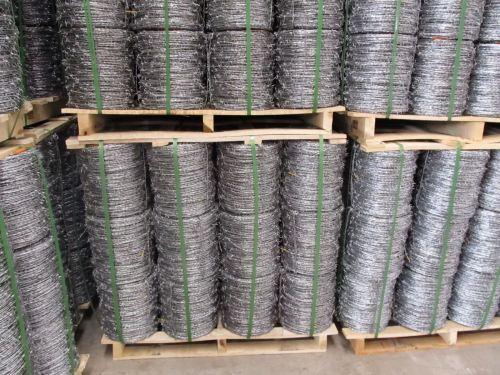 Galvanised Barbed Wire Aluminium