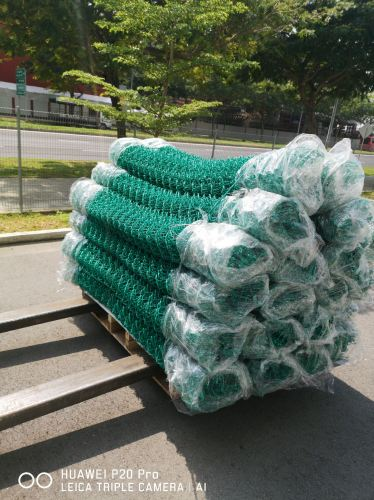 Pvc chain Link Fence Singapore