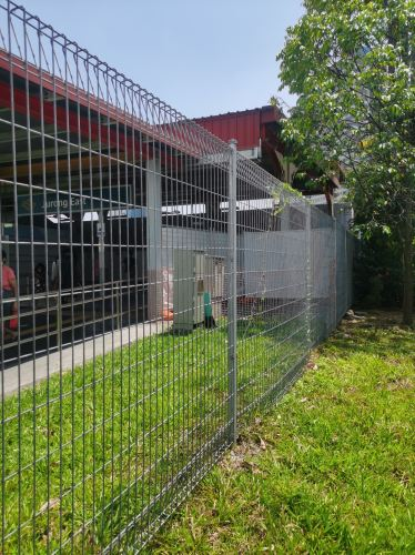 5mm x 50mm x 150mm x 1800mm x 2400mm brc fence security fencing singapore