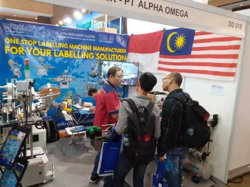 2st days at ALLPACK Indonesia 2019