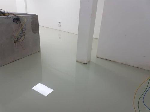 Epoxy Self Levelling Flooring System, Bungalow Workshop, Shah Alam