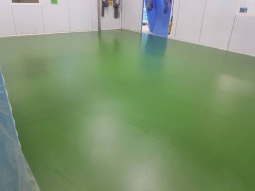 PU MF Flooring System, Nilai Mould Injection Factory