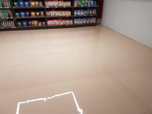 Epoxy Self Levelling Flooring System, Jaya Grocer Supermarket, Empire Sales Gallery, Subang Jaya