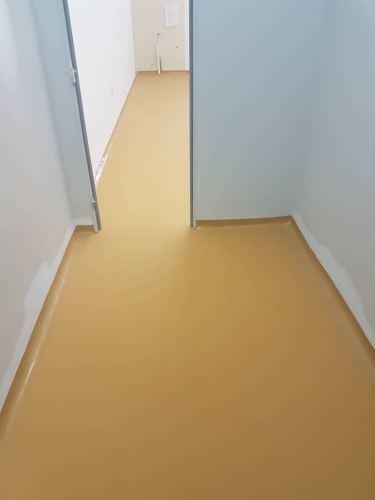 PU MF Flooring System Buff Yellow, Food And average Line Ara Damansara Subang