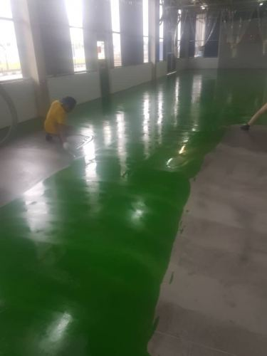 Epoxy Self Levelling On Moisture Barrier System, Perodua Distribution Centre, Rawang