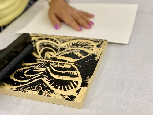 Woodcarving and Print Making