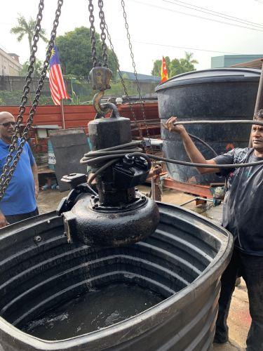 Submersible Pump Testing @Serdang , Seri Kembangan