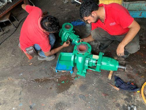 Hot Water Pump, Centrifugal Pump @ Johor Bharu, Ulu Tiram