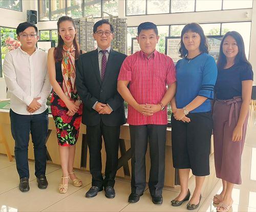 YBhg. Tan Sri Dato Tan Seng Leong (Group Managing Director of BCB Berhad)