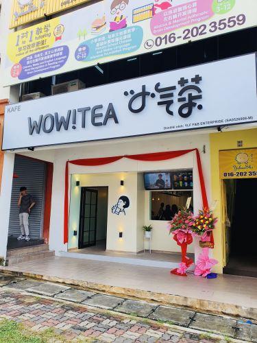 Wow Tea At Kepong Menjalara (Completed Look)