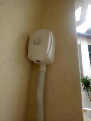 Install water proof power point at Semantan Villas, Damansara heights