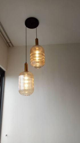 Install pendent light and point at Paloma serviced residences