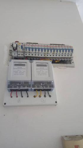 Install sub meter for air cond at casa Subang Apartment