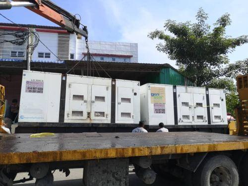 Being supply generator rental set range from 300KVA to 500KVA for Gurun site used