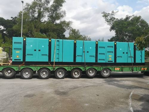 New arrival 5 units generator Cummins engine model NTA855-G4 ready stock for rental only