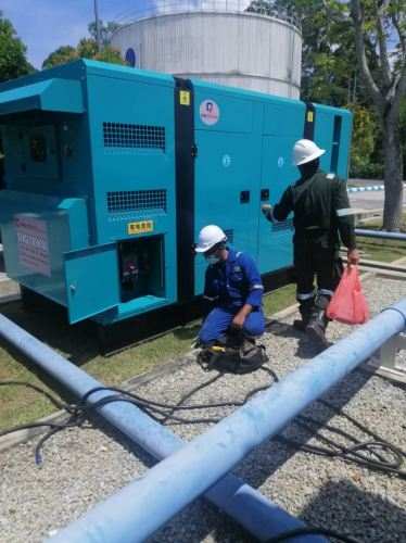 Being supply 2 unitsgenset 300KVA complete with cables and change over board. Customer UTP Tronoh